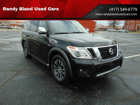 2020 Nissan Armada for sale at Randy Bland Used Cars in Nevada MO
