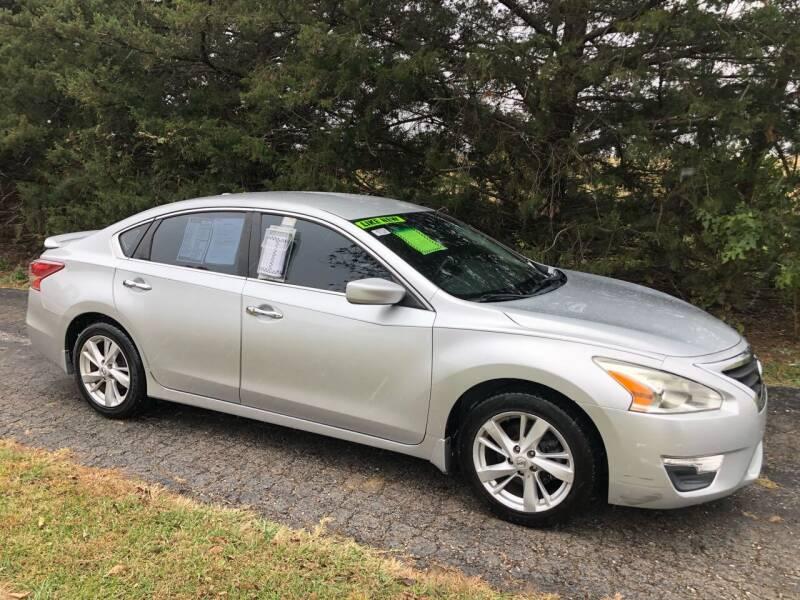 2013 Nissan Altima for sale at Kansas Car Finder in Valley Falls KS