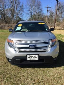 2013 Ford Explorer for sale at CAPITOL AUTO SALES LLC in Baton Rouge LA