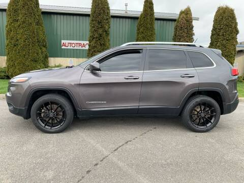 2015 Jeep Cherokee for sale at AUTOTRACK INC in Mount Vernon WA