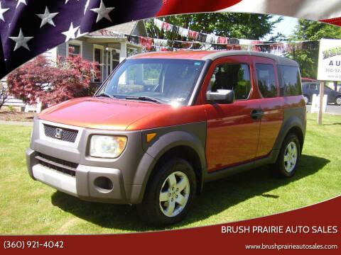 2003 Honda Element for sale at Brush Prairie Auto Sales in Battle Ground WA