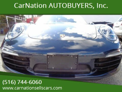 2012 Porsche 911 for sale at CarNation AUTOBUYERS Inc. in Rockville Centre NY