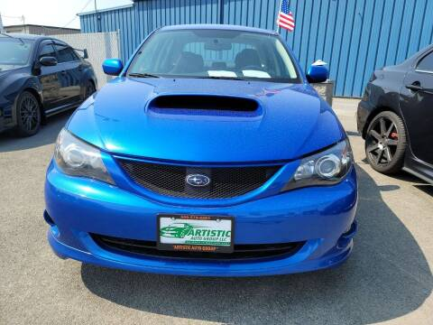 2008 Subaru Impreza for sale at Artistic Auto Group, LLC in Kennewick WA