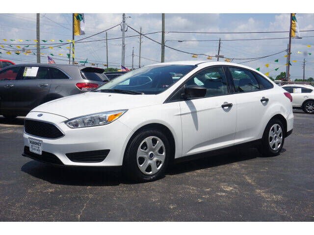2017 Ford Focus for sale at Maroney Auto Sales in Humble TX