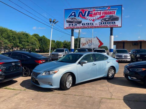 2013 Lexus ES 350 for sale at ANF AUTO FINANCE in Houston TX