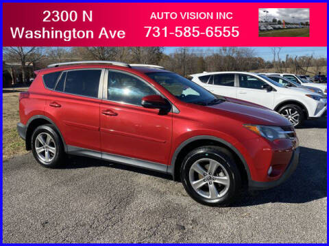 2015 Toyota RAV4 for sale at Auto Vision Inc. in Brownsville TN