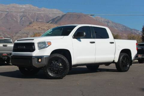 2014 Toyota Tundra for sale at REVOLUTIONARY AUTO in Lindon UT