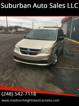 2013 Dodge Grand Caravan for sale at Suburban Auto Sales LLC in Madison Heights MI