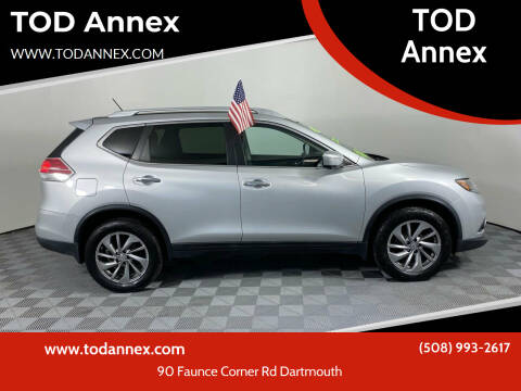 2014 Nissan Rogue for sale at TOD Annex in North Dartmouth MA