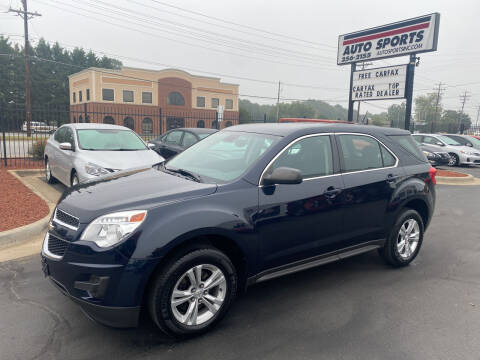 2015 Chevrolet Equinox for sale at Auto Sports in Hickory NC
