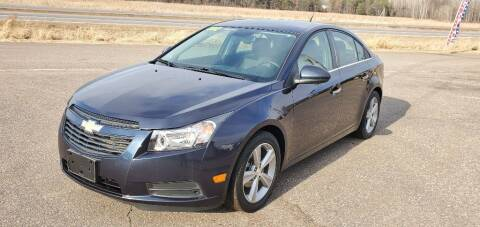 2013 Chevrolet Cruze for sale at Transmart Autos in Zimmerman MN