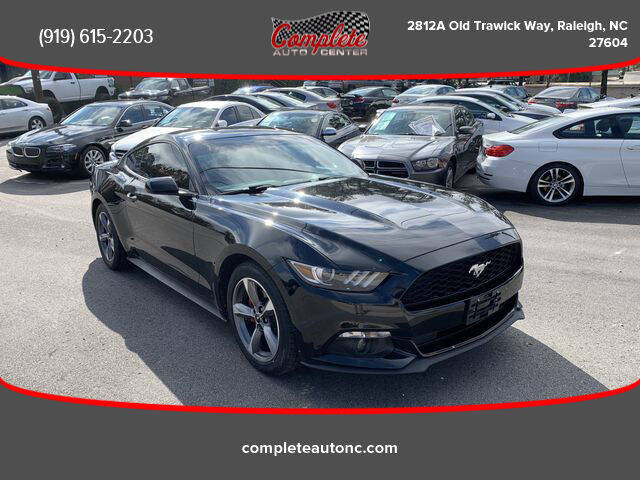 2016 Ford Mustang for sale at Complete Auto Center , Inc in Raleigh NC