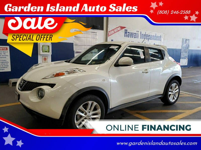 2014 Nissan JUKE for sale at Garden Island Auto Sales in Lihue HI
