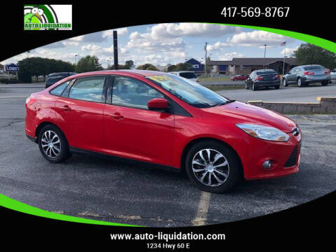 2012 Ford Focus for sale at Auto Liquidation in Republic MO