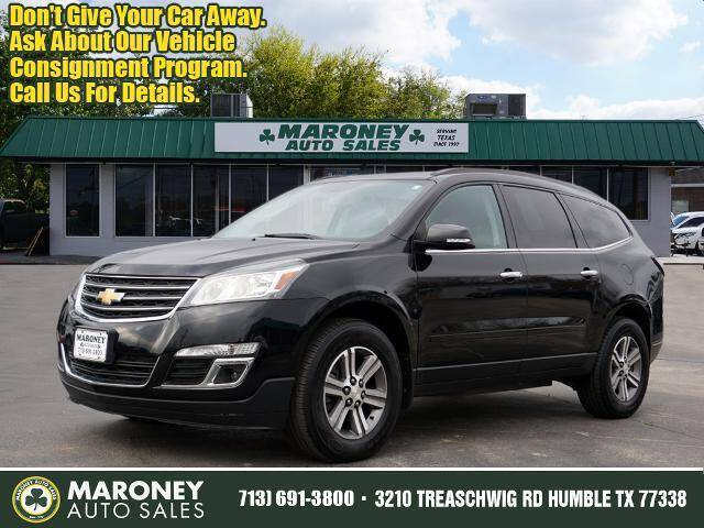 2017 Chevrolet Traverse for sale at Maroney Auto Sales in Humble TX