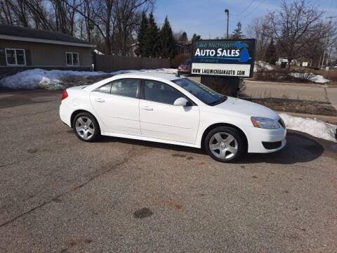 2010 Pontiac G6 for sale at Lake Michigan Auto Sales & Detailing in Allendale MI