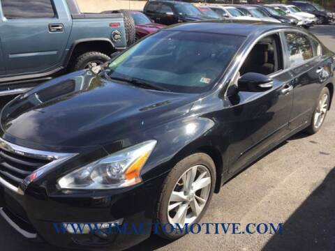2015 Nissan Altima for sale at J & M Automotive in Naugatuck CT