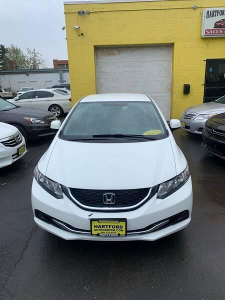 2013 Honda Civic for sale at Hartford Auto Center in Hartford CT