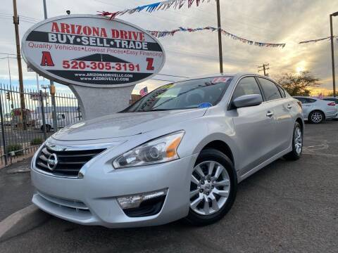 2015 Nissan Altima for sale at Arizona Drive LLC in Tucson AZ