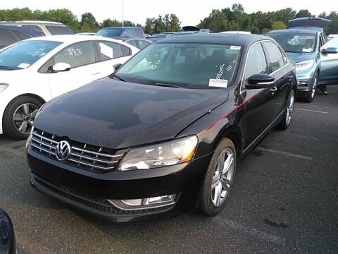 2013 Volkswagen Passat for sale at Riverside Auto Sales & Service in Portland ME