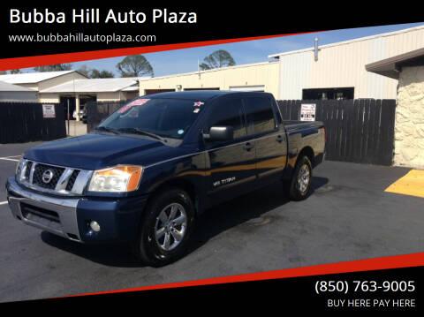 2011 Nissan Titan for sale at Bubba Hill Auto Plaza in Panama City FL