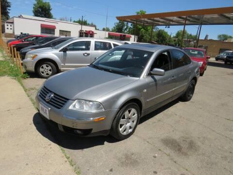 2003 Volkswagen Passat for sale at Nile Auto Sales in Denver CO