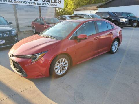 2020 Toyota Corolla for sale at GOOD NEWS AUTO SALES in Fargo ND