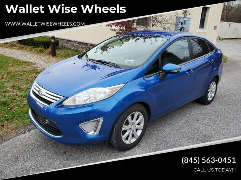 2011 Ford Fiesta for sale at Wallet Wise Wheels in Montgomery NY