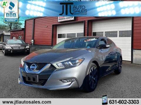 2016 Nissan Maxima for sale at JTL Auto Inc in Selden NY