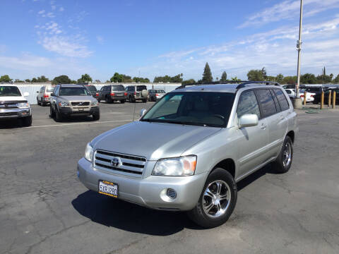 2007 Toyota Highlander for sale at My Three Sons Auto Sales in Sacramento CA
