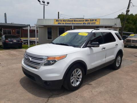 2013 Ford Explorer for sale at Taylor Trading Co in Beaumont TX