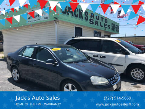 2009 Volkswagen Jetta for sale at Jack's Auto Sales in Port Richey FL