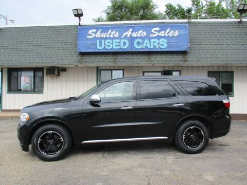 2011 Dodge Durango for sale at SHULTS AUTO SALES INC. in Crystal Lake IL