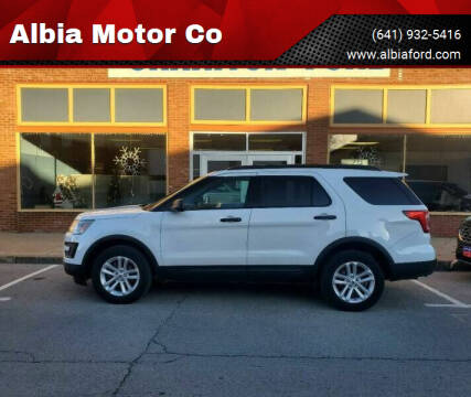 2017 Ford Explorer for sale at Albia Motor Co in Albia IA