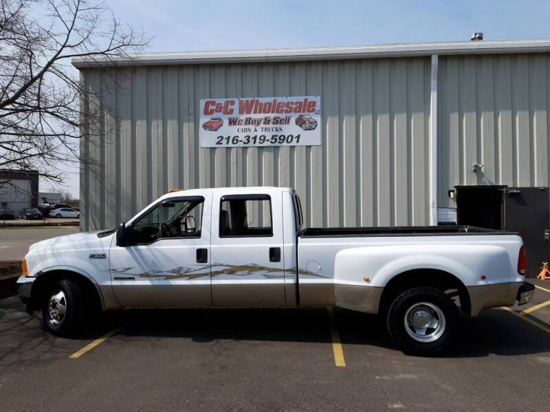 2001 Ford F-350 Super Duty for sale at C & C Wholesale in Cleveland OH