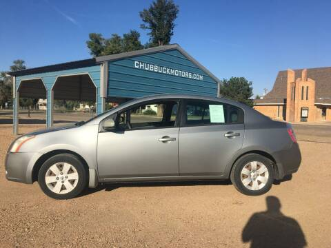 2008 Nissan Sentra for sale at Chubbuck Motor Co in Ordway CO