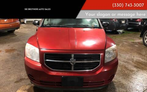 2007 Dodge Caliber for sale at Six Brothers Auto Sales in Youngstown OH