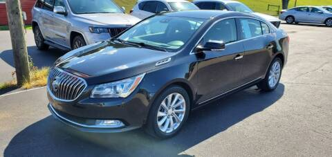 2015 Buick LaCrosse for sale at Gallia Auto Sales in Bidwell OH
