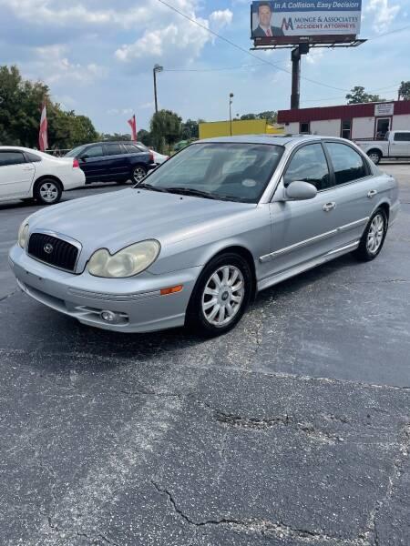 2003 Hyundai Sonata for sale at CityWide Auto Sales in North Charleston SC