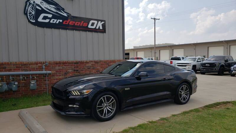 2016 Ford Mustang for sale at Car Deals OK in Oklahoma City OK