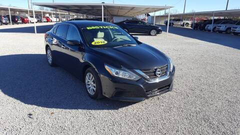 2016 Nissan Altima for sale at Bostick's Auto & Truck Sales in Brownwood TX