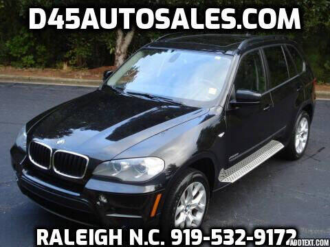 2013 BMW X5 for sale at D45 Auto Brokers in Raleigh NC