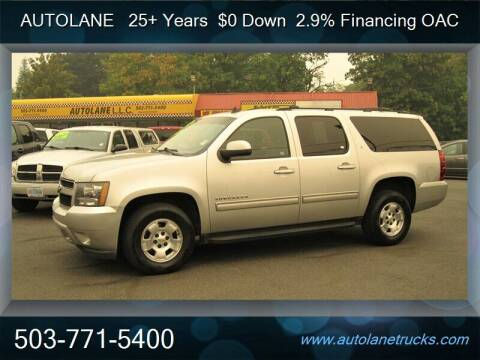 2010 Chevrolet Suburban for sale at Auto Lane in Portland OR