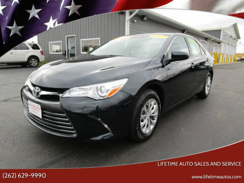 2017 Toyota Camry for sale at Lifetime Auto Sales and Service in West Bend WI