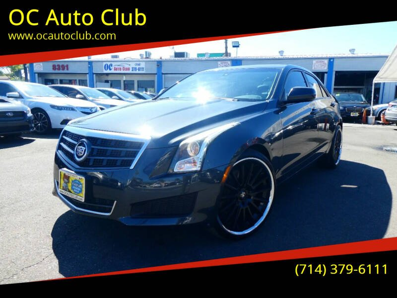 2014 Cadillac ATS for sale at OC Auto Club in Midway City CA