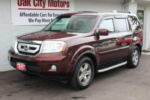 2011 Honda Pilot for sale at Oak City Motors in Garner NC