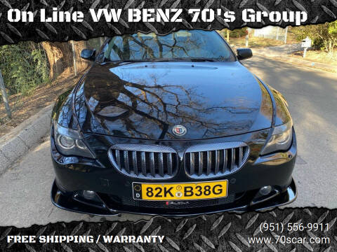2005 BMW ALPINA for sale at On Line VW BENZ 70's Group in Warehouse CA