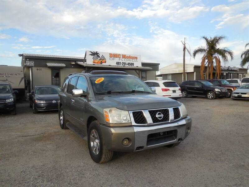 2007 Nissan Armada for sale at DMC Motors of Florida in Orlando FL