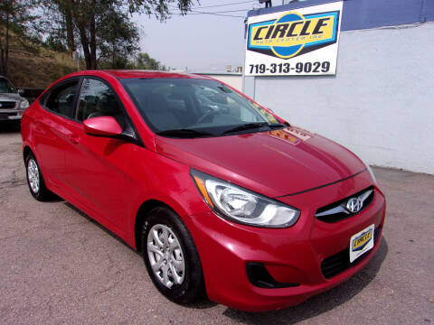 2013 Hyundai Accent for sale at Circle Auto Center in Colorado Springs CO