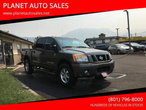 2008 Nissan Titan for sale at PLANET AUTO SALES in Lindon UT